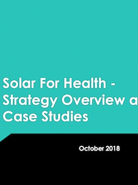Solar for health | United Nations Development Programme